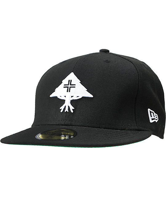 LRG CC Tree Black New Era Fitted Hat