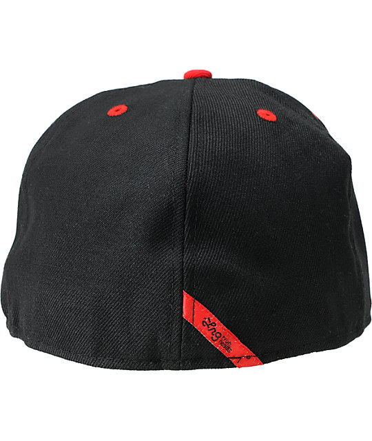 LRG CC Tree Red & Black New Era Fitted Hat