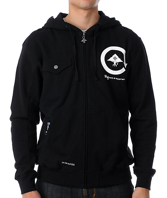 LRG Core Collection 2 Black Hoodie