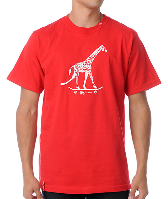 LRG Core Collection Three Red T-Shirt