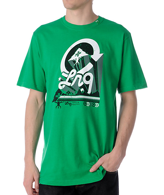 LRG Day Break Kelly Green T-Shirt