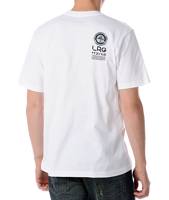 LRG Float On White T-Shirt