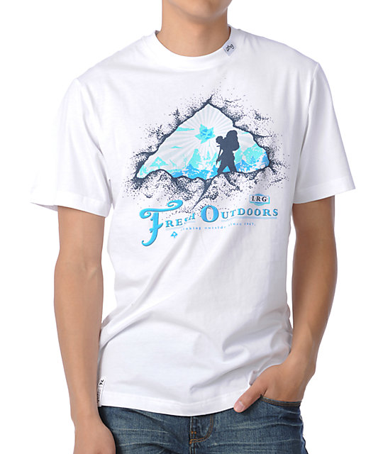 LRG Fresh Outdoors White T-Shirt