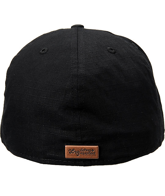 LRG Ginza Black New Era Fitted Hat
