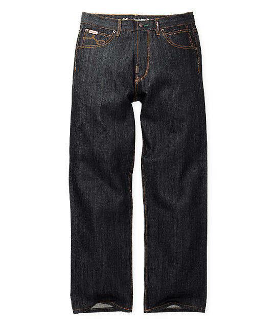 LRG Grass Roots C47 Raw Wash Relaxed Fit Jeans