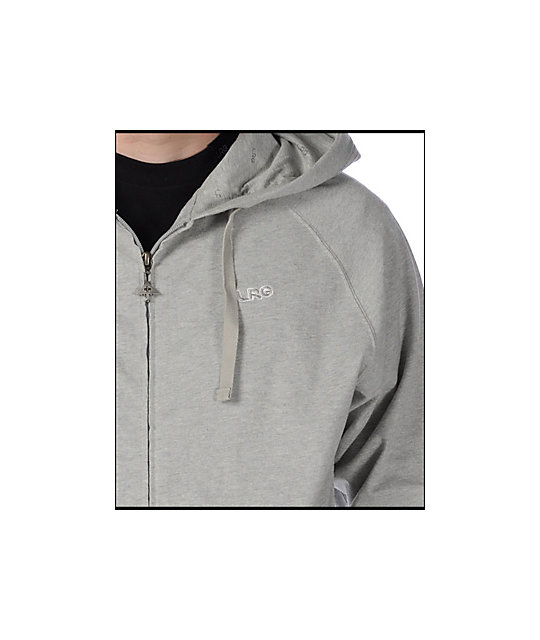 LRG Grass Roots Layering Grey Hoodie