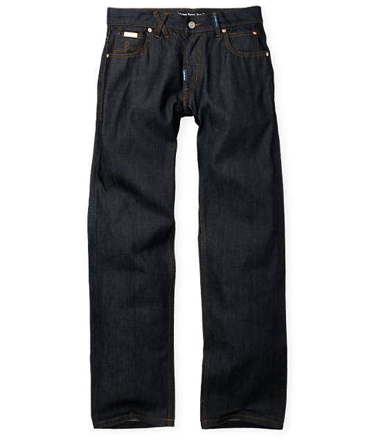 LRG Grass Roots SS Raw Denim