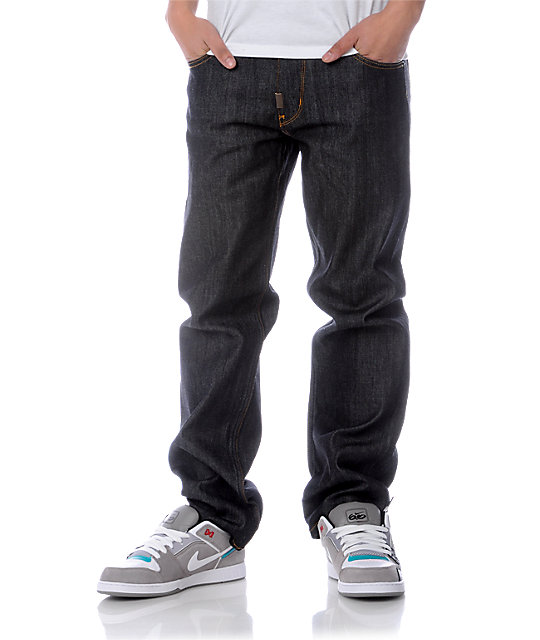 LRG Grass Roots TS Raw Wash Denim