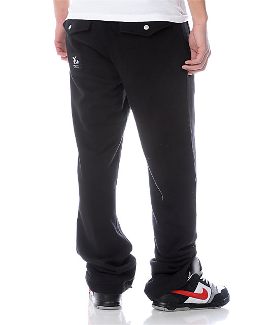 LRG Grass Roots Two Black Sweatpants
