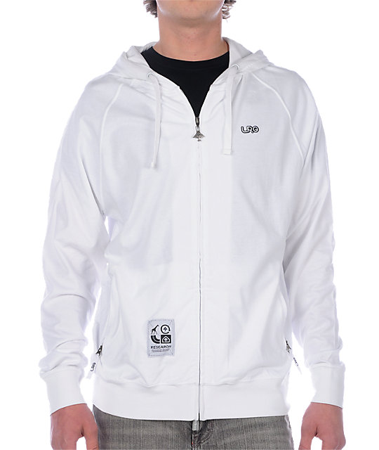 LRG Grass Roots White Hoodie