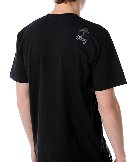 LRG Here We Grow Again Black T-Shirt