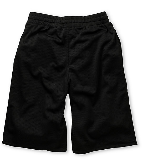 LRG Hoops Black Mesh Shorts
