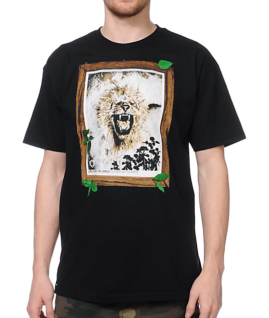 LRG Jungle King Black T-Shirt
