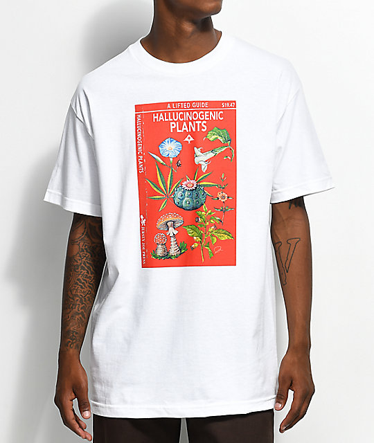 5d9dafb97 LRG Lifted Guide White T-Shirt | Zumiez