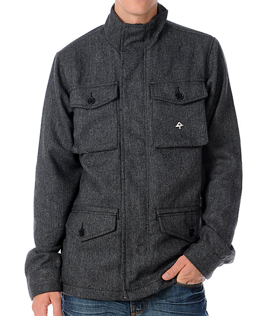 LRG Mens Mercer Charcoal Jacket