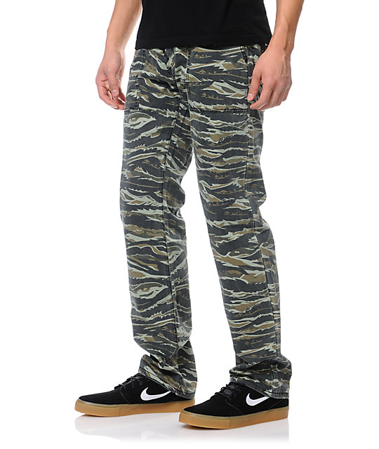 LRG OG Army Tiger Camo Chino Pants