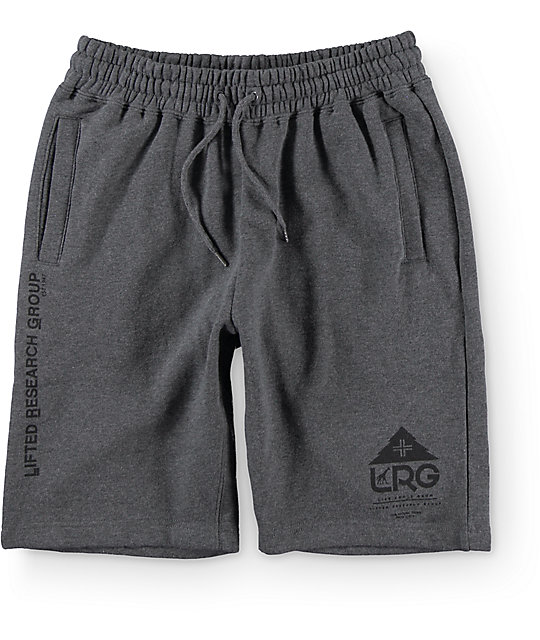LRG One Icon Charcoal Sweat Shorts