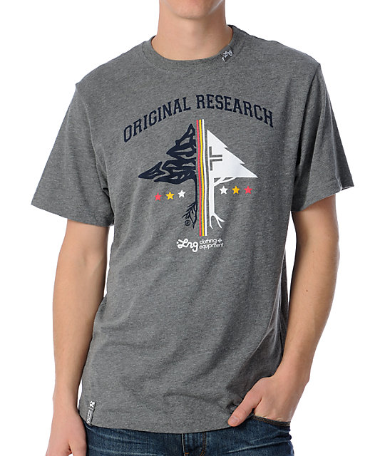 LRG Original Researchers Charcoal T-Shirt