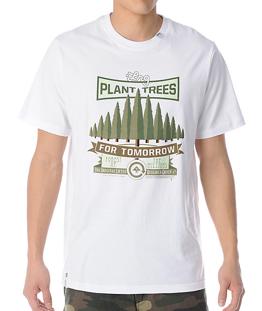 LRG Plant Trees White T-Shirt