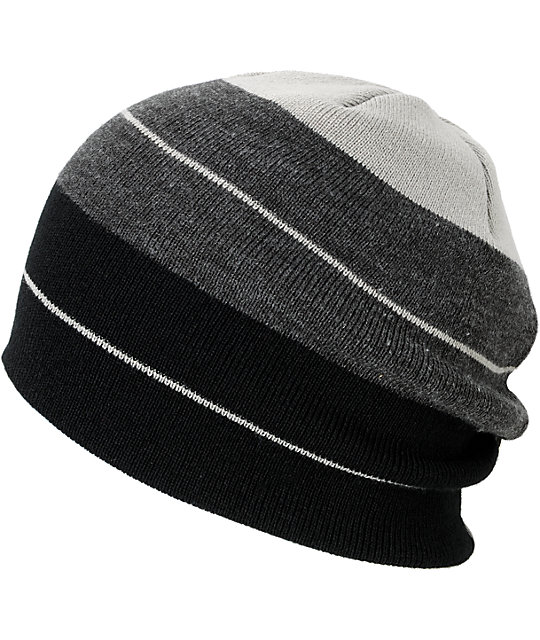 LRG Present Future Black & Grey Beanie