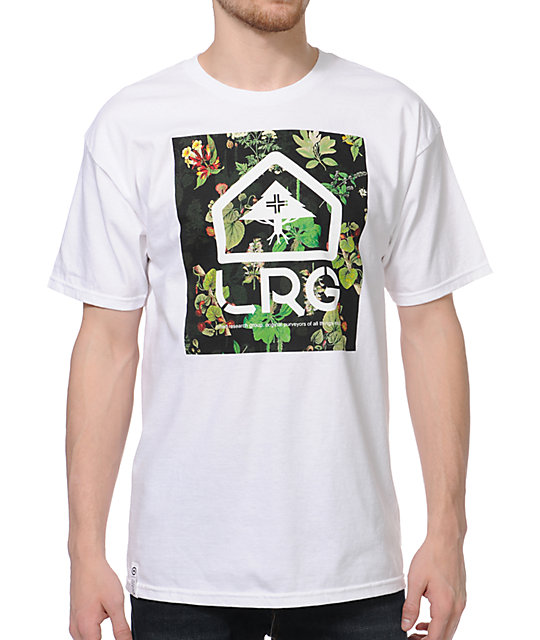 LRG Purveyors Of Style White T-Shirt