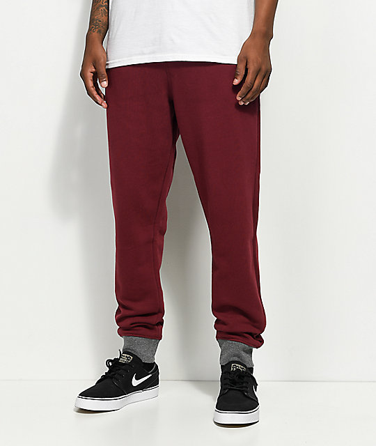 LRG RC Burgundy Sweatpants