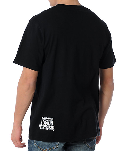 LRG Script Ross Black T-Shirt
