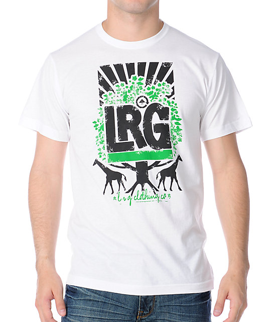 LRG Sunburst Tree White T-Shirt