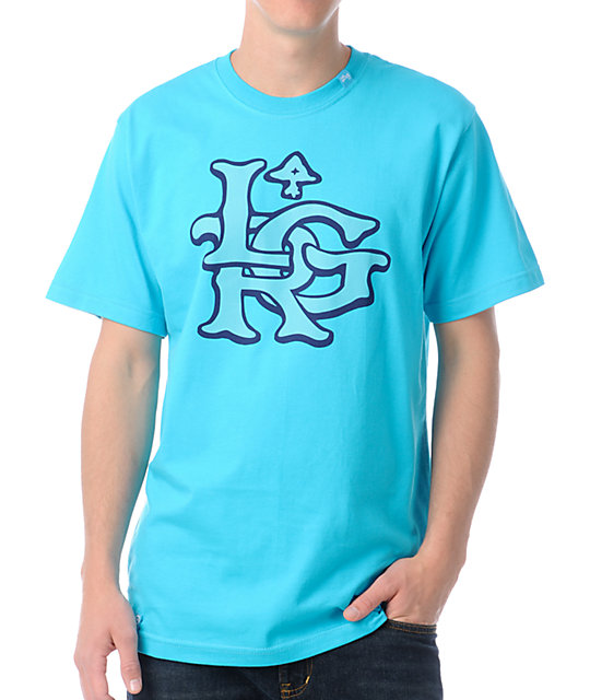 LRG The Rugged Turquoise T-Shirt