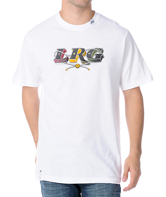 LRG Think Legacy White T-Shirt
