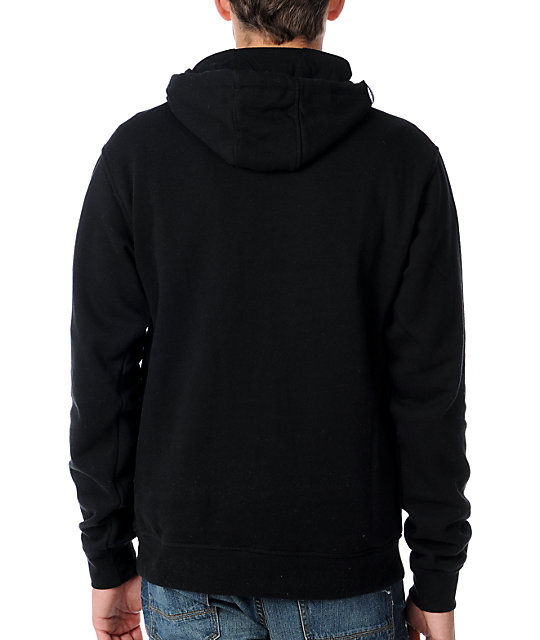 LRG Tree Tech Mens Black Pullover Hoodie
