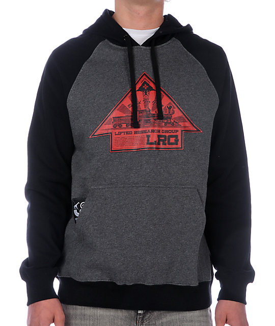 LRG Up And At Em Black Hoodie