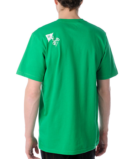 LRG Vision Tree Kelly Green T-Shirt