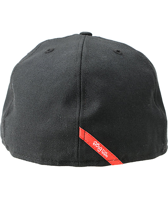 LRG Whip It Black New Era Fitted Hat