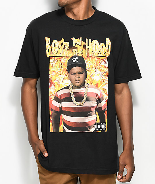 Shoptagr Lrg X Boyz N The Hood Doughboy Black T Shirt By Lrg