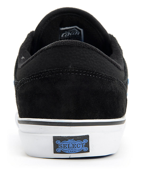 ... Lakai Brea Black Suede Skate Shoes ...