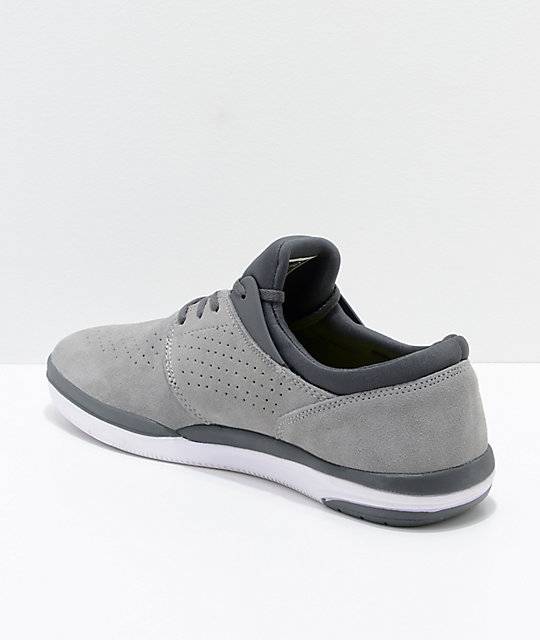Lakai Fremont Grey & Charcoal Suede Skate Shoes