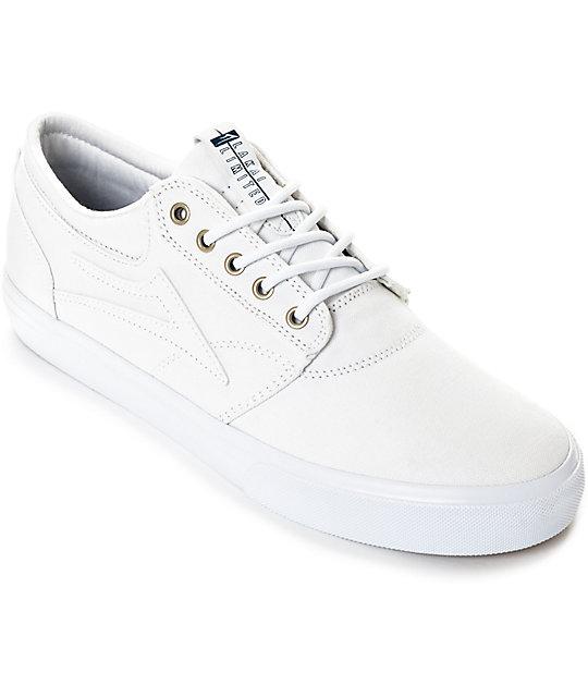 Zapatos blancos Lakai para hombre NUmBCLYa