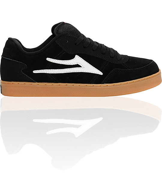 Lakai MJ-5 Black & Gum Shoes