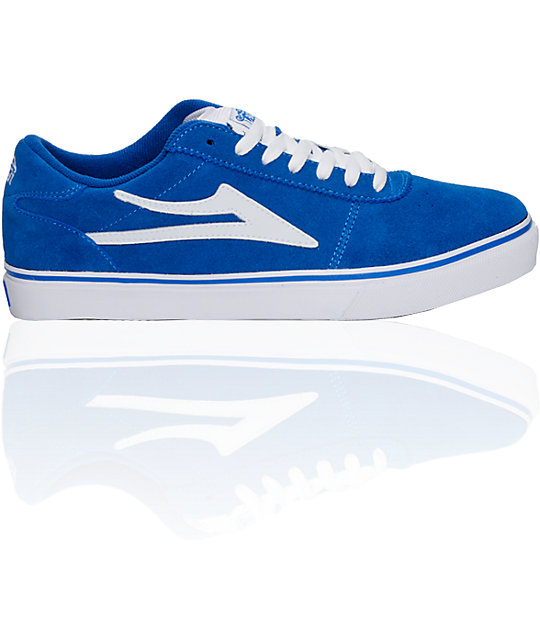 Lakai Manchester Select Blue Suede Shoes
