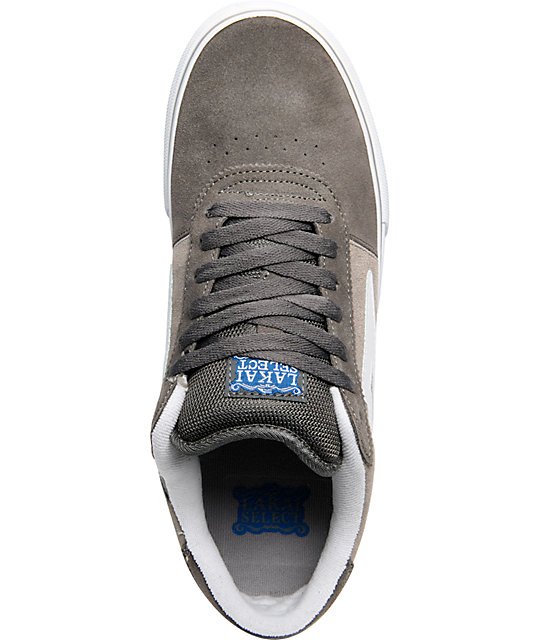 Lakai Manchester Select Charcoal & Grey Suede Shoes