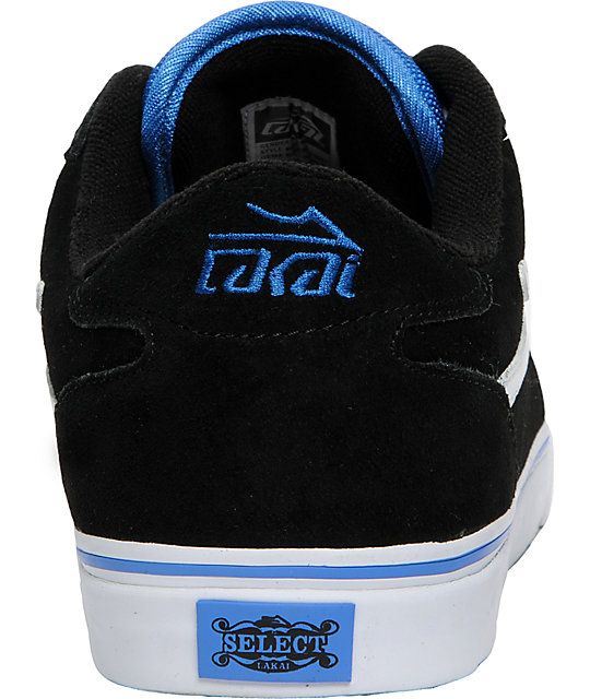 Lakai Manchester Select Mike Mo Black Suede Shoes