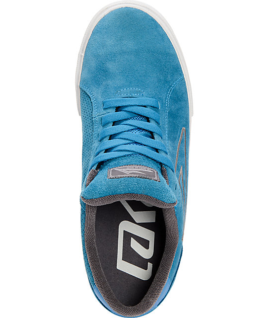 Lakai Mariano Royal Blue Suede Skate Shoes