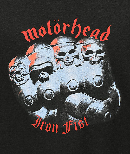Lakai X Motorhead Iron Fist Black T-Shirt