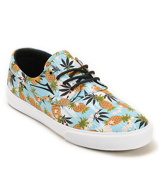 de6ddc8e32 Lakai x FTC Camby Pineapple Express Skate Shoes