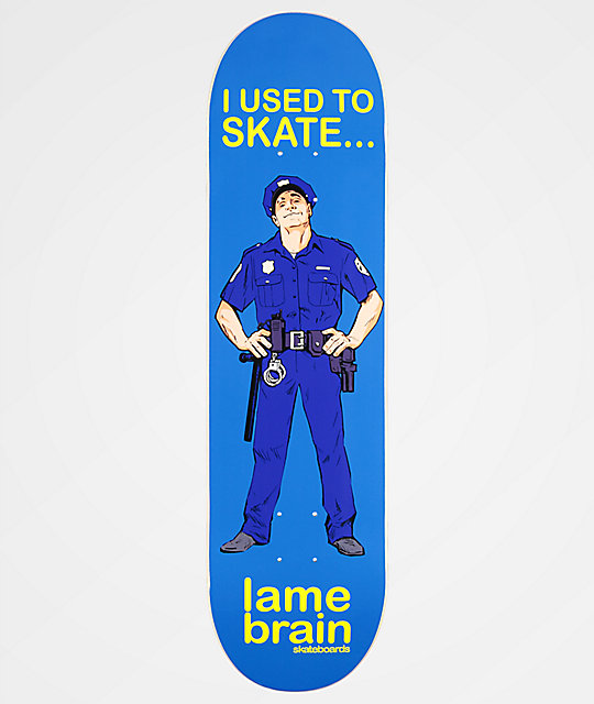 "Lamebrain Glory Days 8.25"" Skateboard Deck"