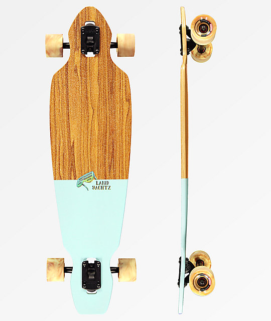 "Landyachtz Battle Axe Chill Bird 35.25"" Drop Through longboard completo"