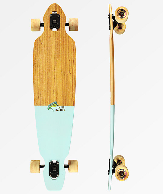 "Landyachtz Battle Axe Chill Bird 40"" Drop Through Longboard Complete"