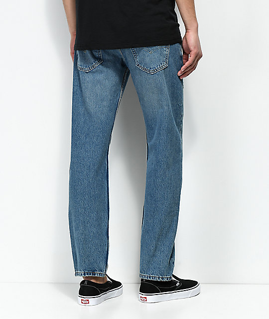 Levi's 502 Broom Tree Indigo Regular Fit Jeans