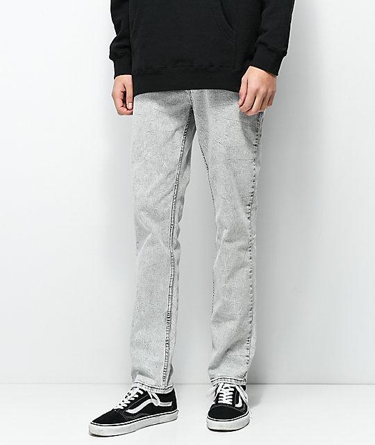 b36a13ae Levi's 511 Hunk Grey Acid Wash Slim Fit Jeans | Zumiez